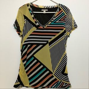 Dana Buchman pattern shirt